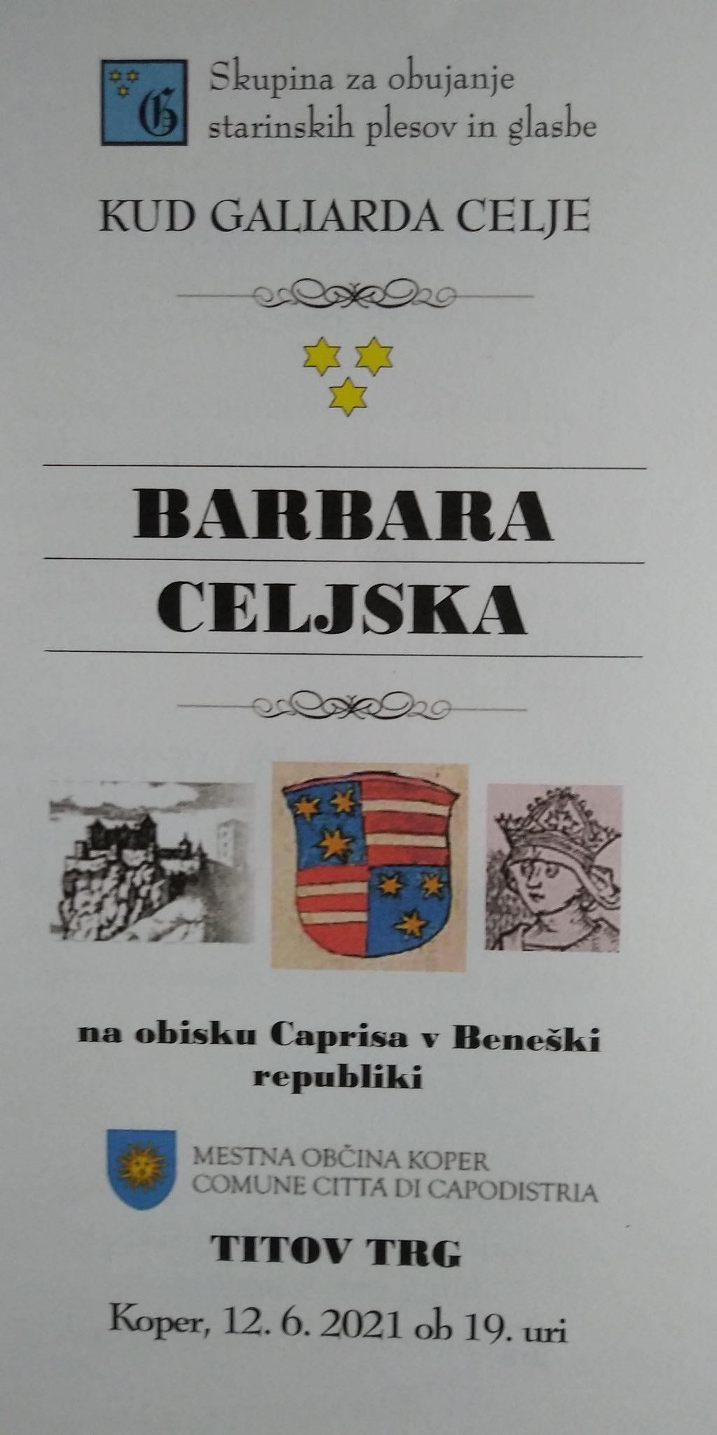 Galiarda Koper 2021